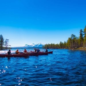 Canoe Basic Course+: 3 Days on lakes and 2 days on river